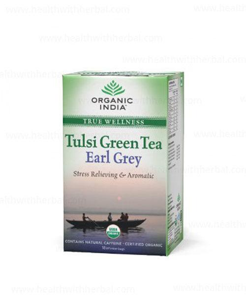 buy Organic India Tulsi Green Earl Grey in Delhi,India