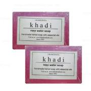 buy Khadi Rose Water Soap in Delhi,India