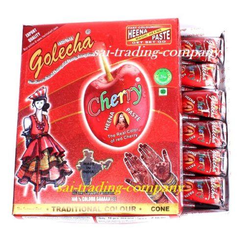 buy Golecha Cherry Henna Cone in Delhi,India