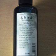 buy Khadi Herbal Hair oil trifala oil210ml in Delhi,India