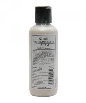 buy khadi Whitening Scrub (Badam) 210ml in Delhi,India