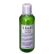buy Khadi Neem &Turmeric Face Wash in Delhi,India