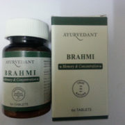 buy Ayurvedant Brahmi 60 Tablets for Memory & Concentration in Delhi,India