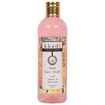 buy Khadi Rose Face Wash 200ml in Delhi,India