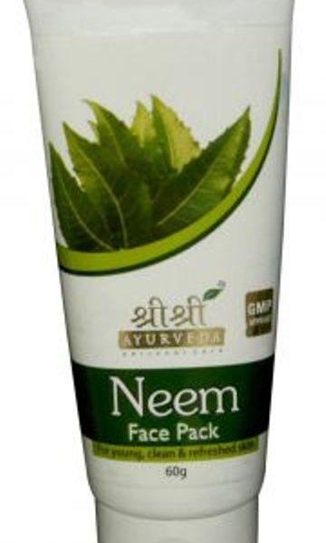buy Sri Sri Ayurveda Neem Face Pack 60 ml in Delhi,India
