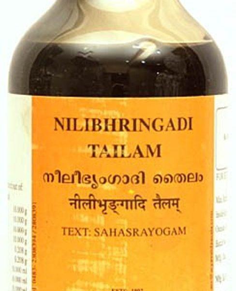 buy Arya Vaidya Sala Ayurvedic Nilibhringadi Thailam 200ml in Delhi,India