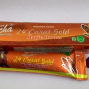 buy Golecha 24 Carat Gold Magic Henna Orange Tubes (Pack of 12) in Delhi,India