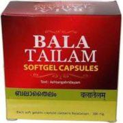 buy Ayurvedic Bala Tailam Softgel Capsules in Delhi,India