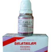 buy Arya Vaidya Sala  Ayurvedic Bala Tailam 10ml in Delhi,India