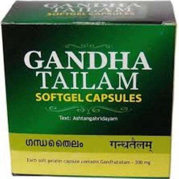 buy Ayurvedic Gandha Tailam Softgel Capsules in Delhi,India