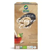 buy Organic Wellness Ginger Black Tea Bags in Delhi,India