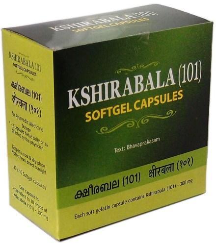 buy Kshirabala (101) Softgel Capsules in Delhi,India