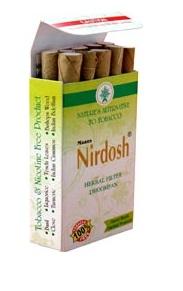 buy Nirdosh Herbal Cigarettes in Delhi,India