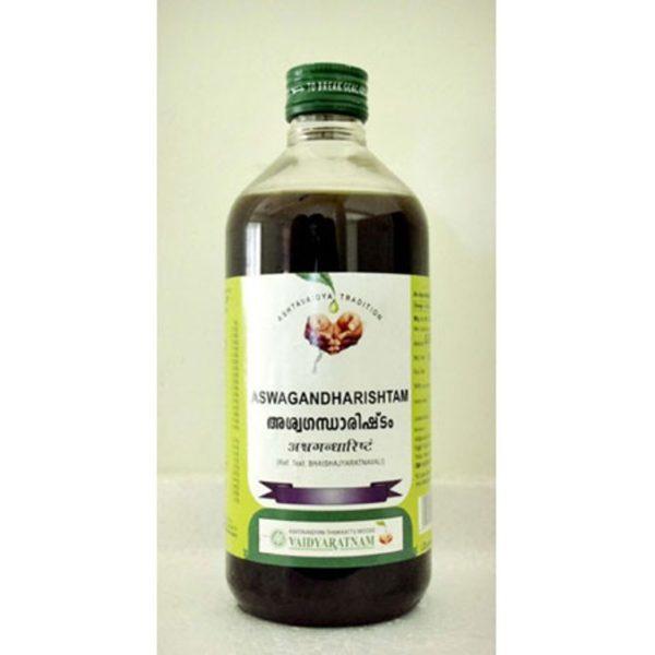 buy Vaidyaratnam Aswagandharishtam Syrup in Delhi,India