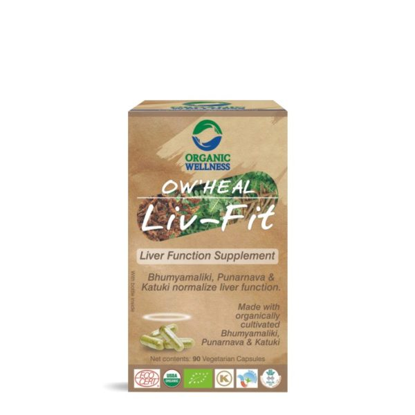 buy Organic Wellness Liv -Fit Capsules in Delhi,India