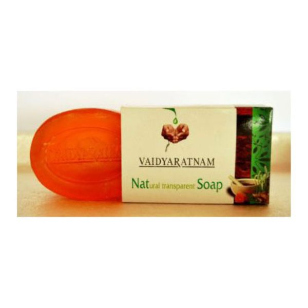 buy Vaidyaratnam Natural Transparent Soap in Delhi,India