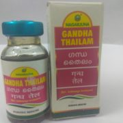 buy Gandha Thailam (10 ml) by Nagarjuna Herbal in Delhi,India