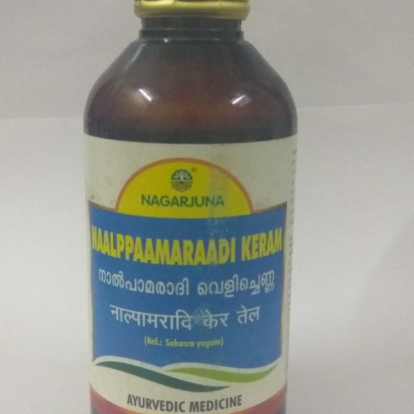 buy Nagarjuna Herbal Naalppaamaraadi Keram Tailam in Delhi,India