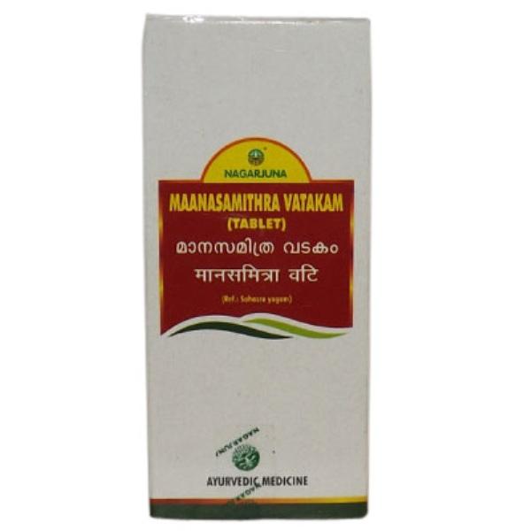 buy Nagarjuna Maanasamithra Vatakam 100 Tablets in Delhi,India
