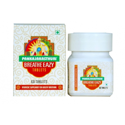 buy Pankajakasthuri  Breathe Eazy Tablets in Delhi,India