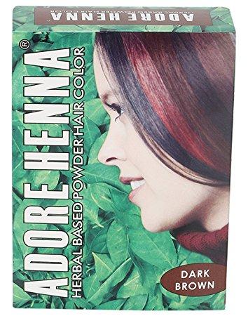 Buy Adore Henna Dark Brown Hair Color in Delhi, India at ...