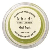buy Khadi Natural Herbal Lip Balm (Kiwi Fruit Flavour) 10g in Delhi,India