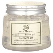 buy Khadi Natural Herbal Aloevera Gel With Liqorice & Cucumber Extracts 200g in Delhi,India