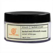 buy Khadi Natural Herbal Anti Blemish Cream in Delhi,India
