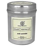 buy Khadi Natural Anti Wrinkle Herbal Face Mask in Delhi,India