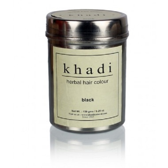 buy Khadi Natural Black Herbal Hair Colour 150g in Delhi,India