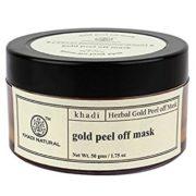 buy Khadi Natural Herbal Gold Peel Off Mask in Delhi,India