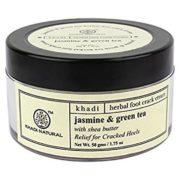 buy Khadi Natural Herbal Jasmine & Green Tea Foot Cream in Delhi,India