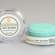 buy Khadi Natural Mint Lip Balm 10 g Provides Long Lasting Moisture in Delhi,India