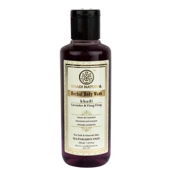 buy Khadi Natural Lavender & Ylang Ylang Body Wash in Delhi,India
