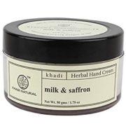 buy Khadi Natural Herbal Hand Cream Milk & Saffron in Delhi,India