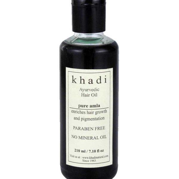 buy Khadi Natural Pure Amla Hair Oil 210ml in Delhi,India