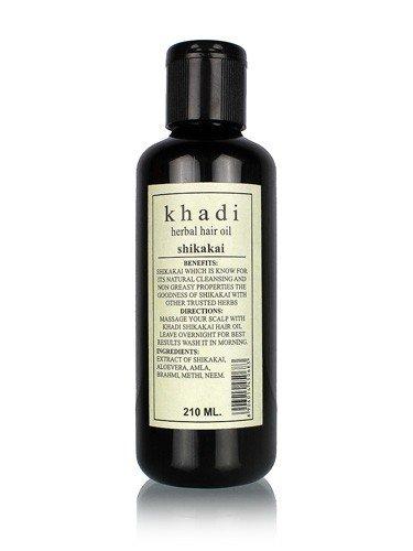 buy Khadi Natural Shikakai Hair Oil 210ml in Delhi,India
