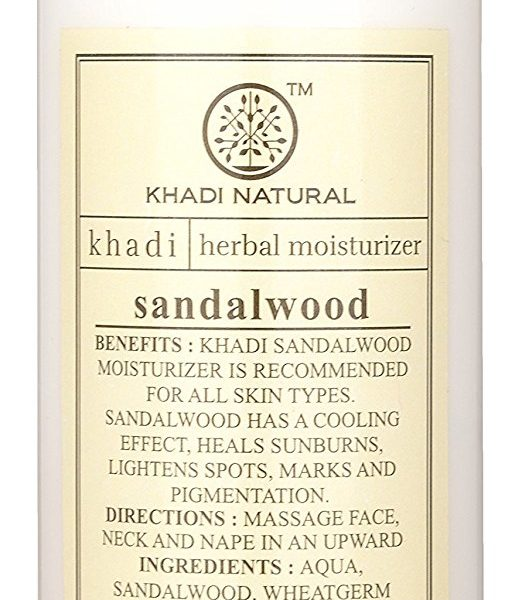 buy Khadi Natural Sandalwood Herbal Moisturizer Lotion in Delhi,India