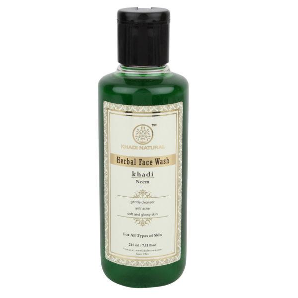 buy Khadi Natural Neem Herbal Face Wash in Delhi,India