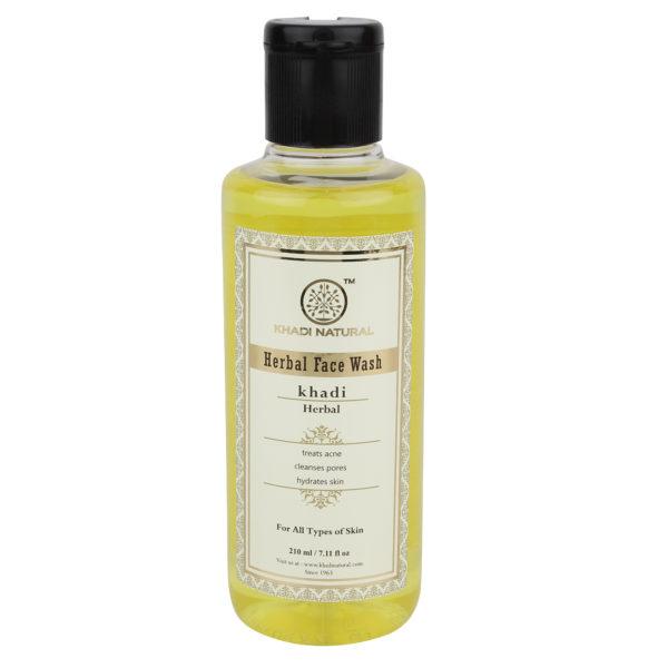 buy Khadi Natural Herbal Face Wash in Delhi,India