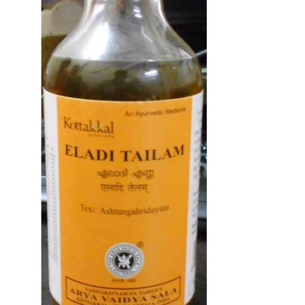 buy Arya Vaidya Sala Eladi Tailam 200 ml in Delhi,India