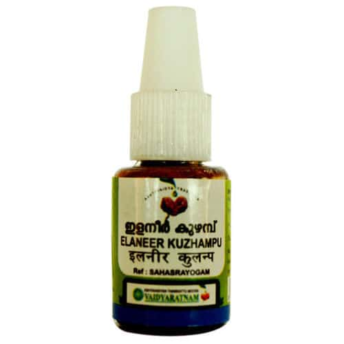 buy Vaidyaratnam Elaneer Kuzhampu Eye Drop 10ml in Delhi,India