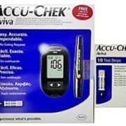 buy Accu-Chek Aviva Glucose Meter and Lancing Device with Free 10 Testing Strips in Delhi,India