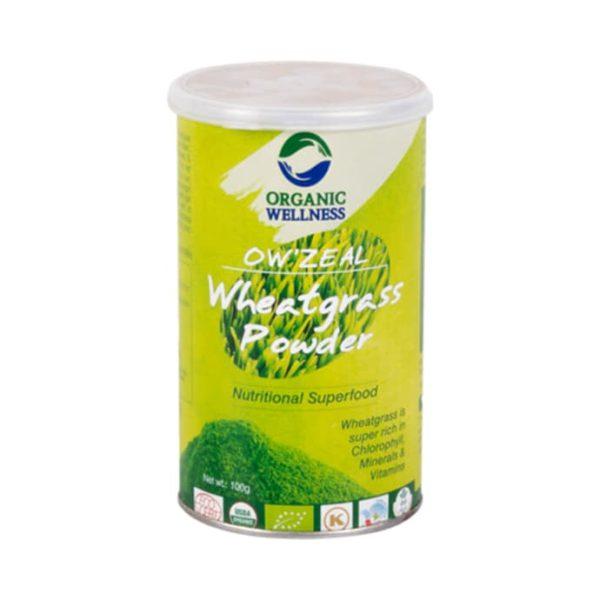 buy Organic Wellness OW'ZEAL Wheat Grass Powder in Delhi,India
