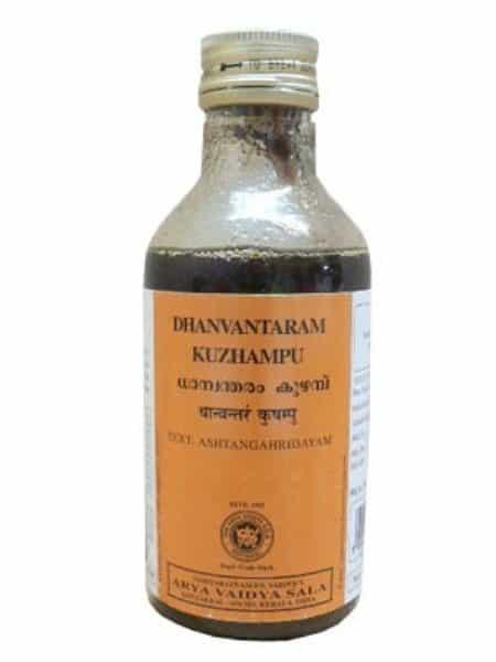 buy Arya Vaidya Sala Ayurvedic Dhanvantaram Kuzhampu in Delhi,India