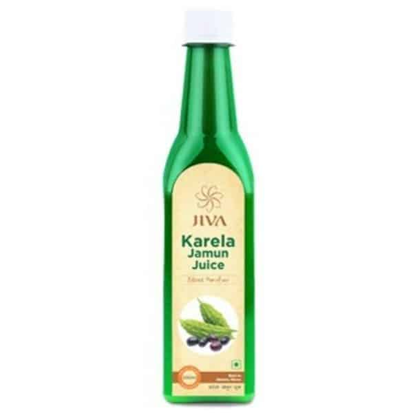 buy Jiva Ayurveda Karela Jamun Plus Juice in Delhi,India
